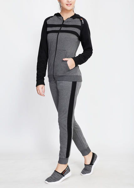 Dark Grey and Black Tracksuit