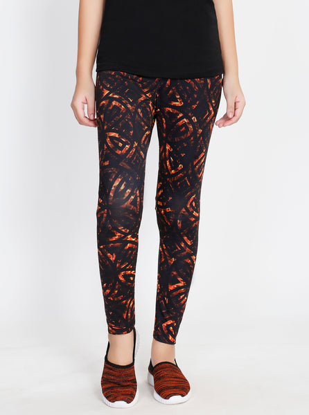 Volcanic Lava Leggings