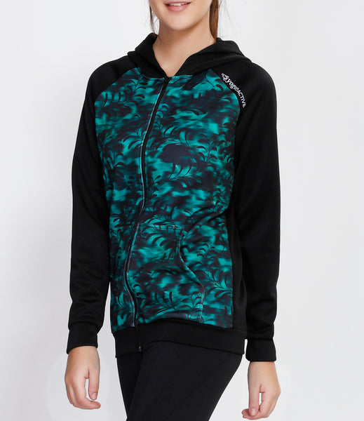 Green Tornado Hooded Jacket
