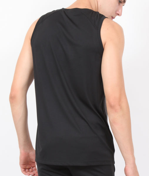 Charcoal Black Sleeveless