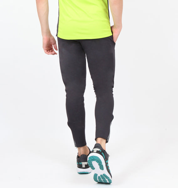 Charcoal Grey Men's Running Tights