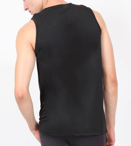 Silver Black Sleeveless