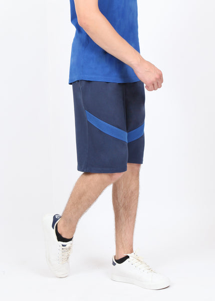 Blue Long Shorts