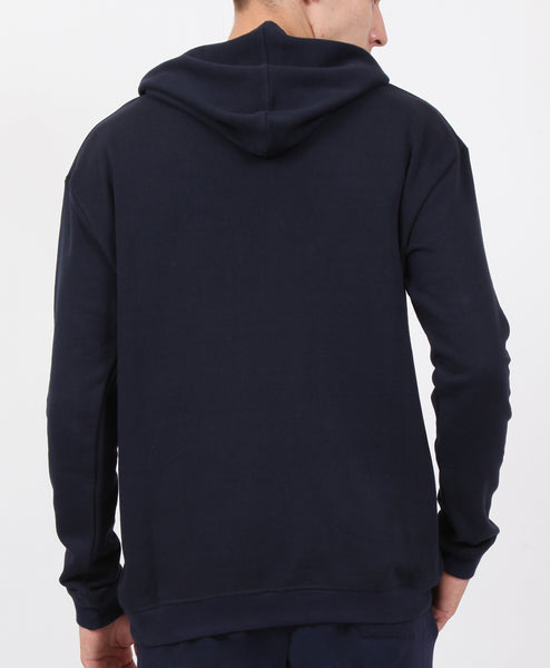 Navy French Terry Hoodie