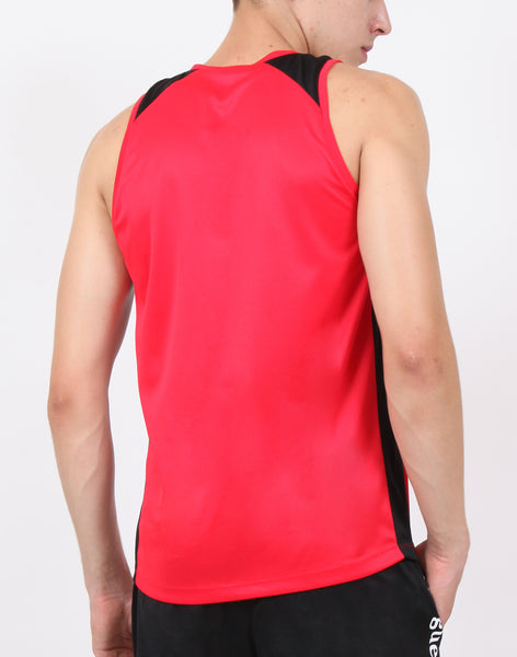 Red & Black Sleeveless