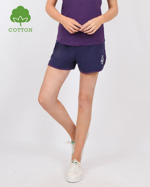 Purple Comfy Shorts