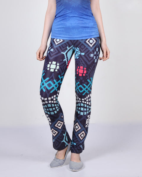 African Motif Bell Bottoms