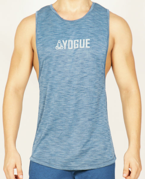 Aqua Blue Yogue Tank