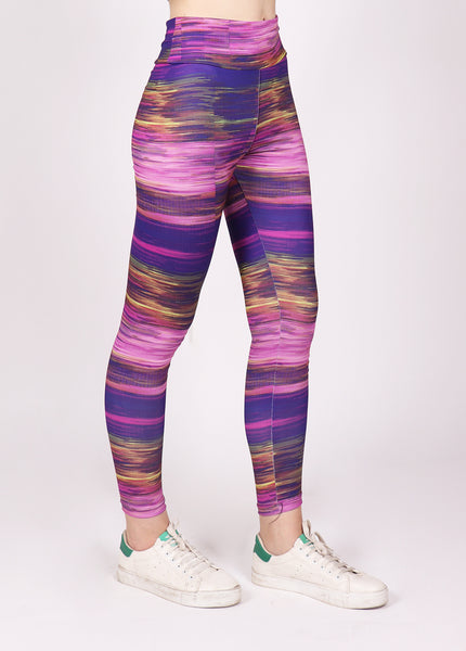 Lilac Texture Leggings