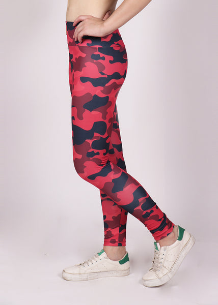 Shop The Look - Top + Leggings - Scarlet Camo