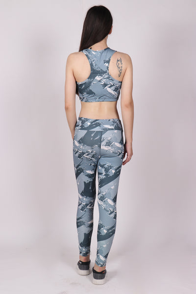 Shop The Look - Top + Leggings - Windy Grey