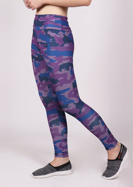 Shop The Look - Top + Leggings - Magenta Camo