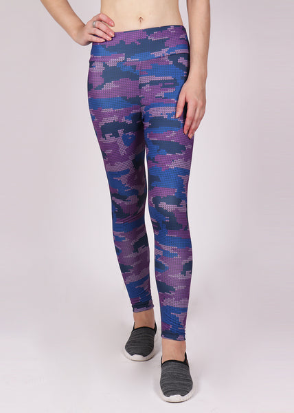 Magenta Camo Leggings
