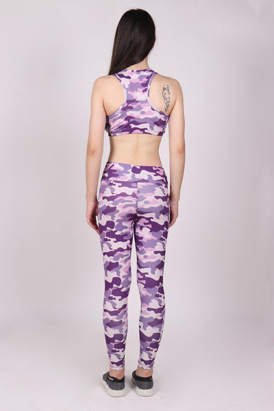Shop The Look - Top + Leggings - Pink & Purple Camo