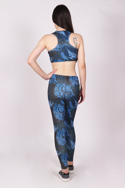 Shop The Look - Top + Leggings - Blue Turbulence