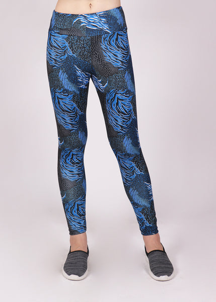 Turbulence Blue Tights