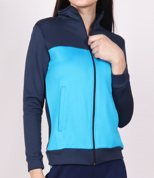 Flouroscent Blue Jacket