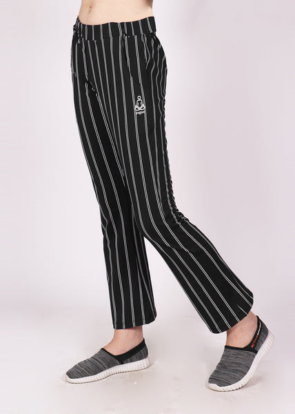 Black PinStripes Bell Bottoms