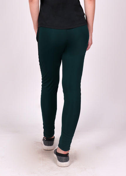 Green Black Slim Fit Joggers