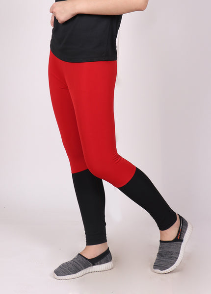 Red Black 2Tone Tights