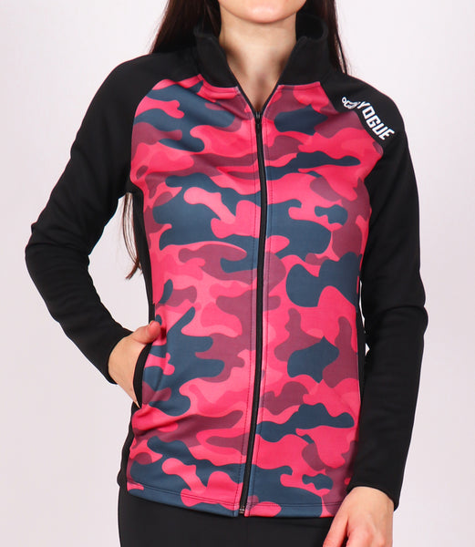 Scarlet Camo Slim Fit Jacket