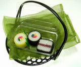 Sushi Gift Assorted Handmade Beeswax Candles 3 Piece Set