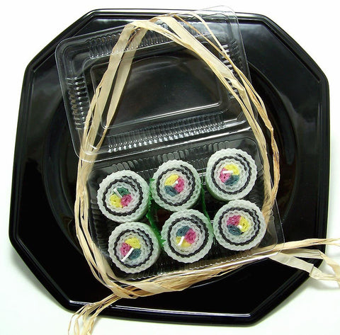 Sushi Candles California Roll 6 with Shipping Included