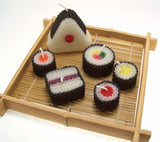 Assorted Sushi Candles 6 Set with Shipping Included