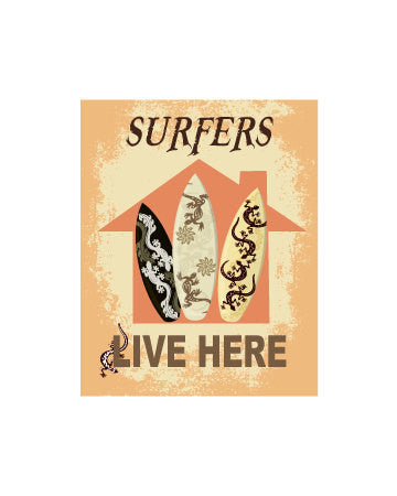 Surf Art Surfing Gift Surfer Print Surfboard Surfer Art Surf Board Surf Print Surfing Art Surfing Print Surf Decor Beach House Decor Sign