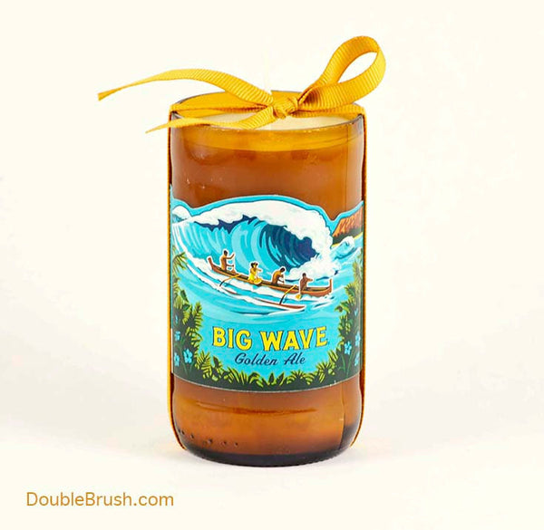 Big Wave Candle Kona Brewery Hawaii