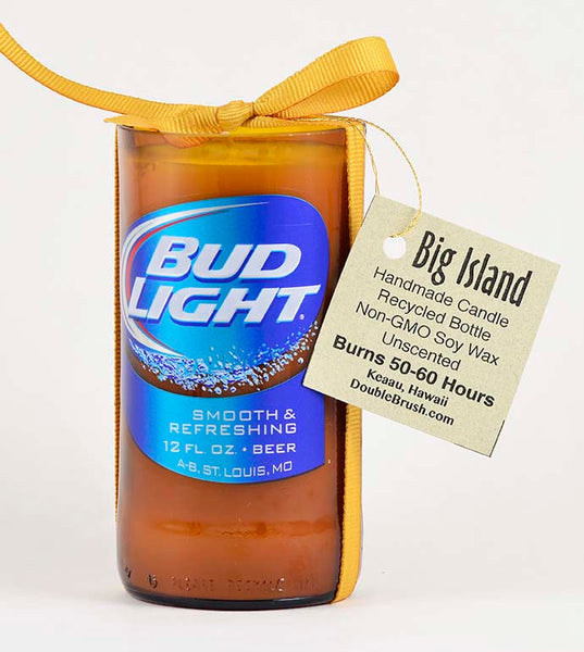 Bud Light Drink Bottle Unique Candle Gift