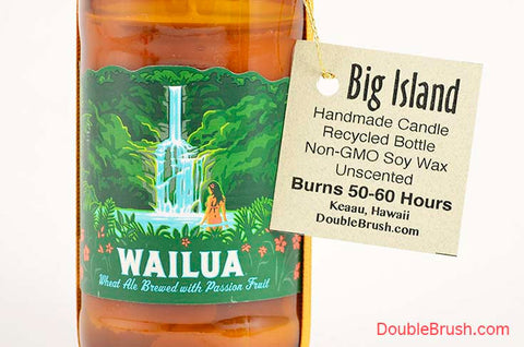 Kona Brew Wailua Candle Handmade in Hawaii US Shipping Included