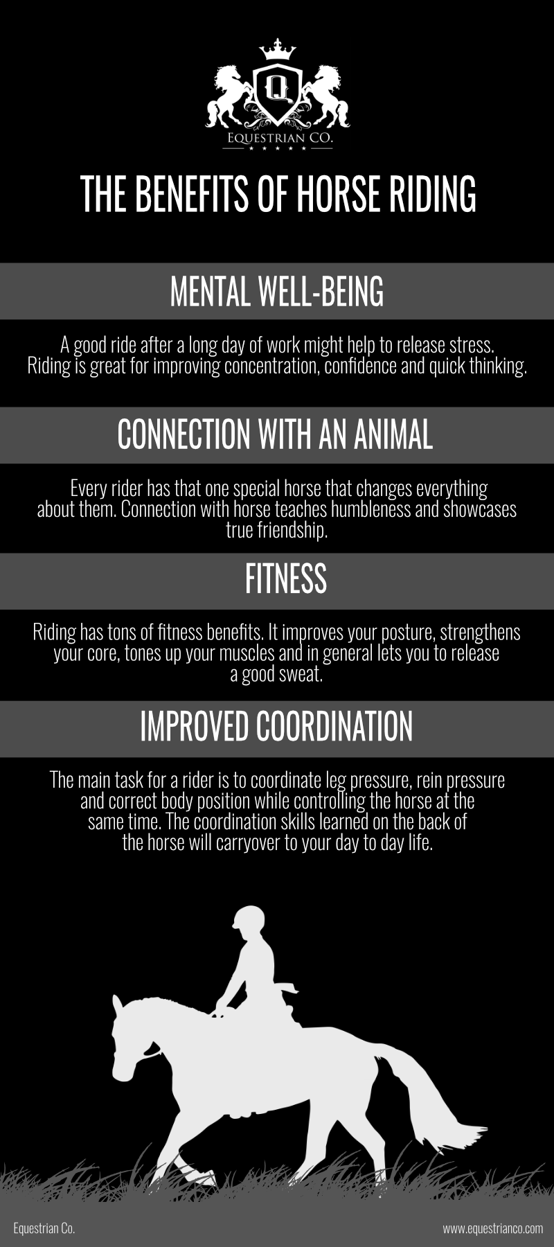 The Benefits of Horse Riding