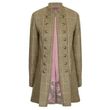 Beaver of Bolton Bespoke Handmade Ladies' British Wool Tweed Pirate Coat