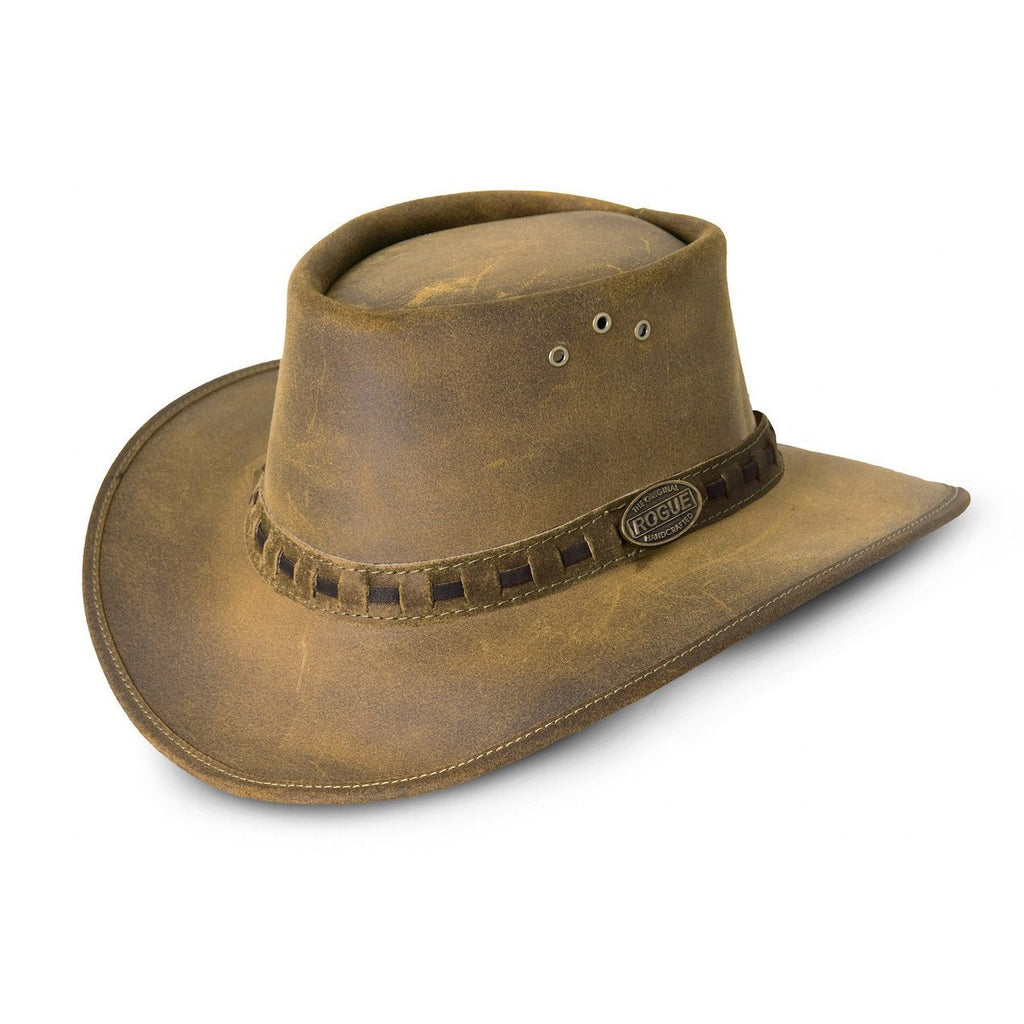 Rogue One Ten P Safari / Cowboy Hat in Old Suede 110P-Equestrian Co.