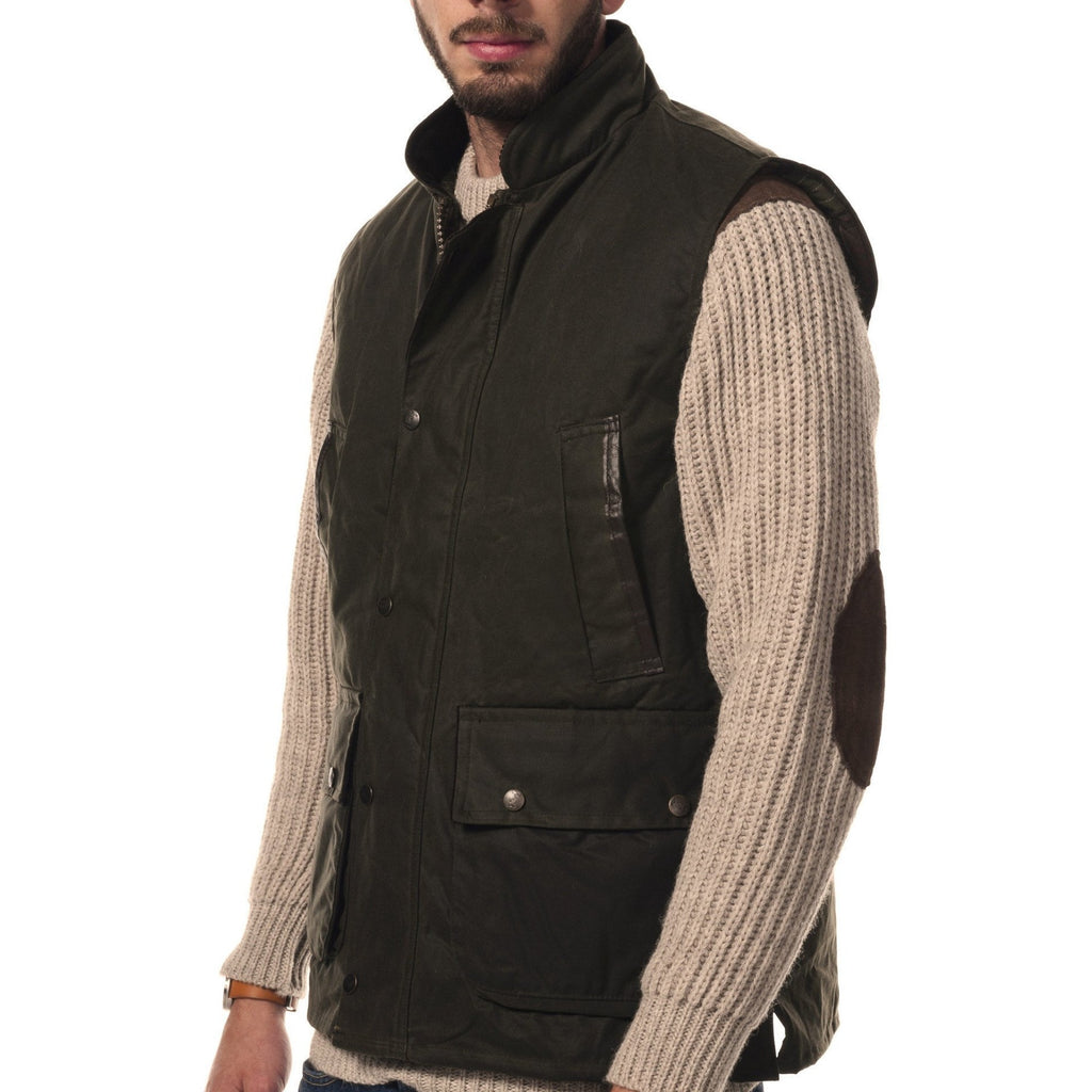 Hunter Outdoor Derwent Men's Wax Gilet-Equestrian Co.