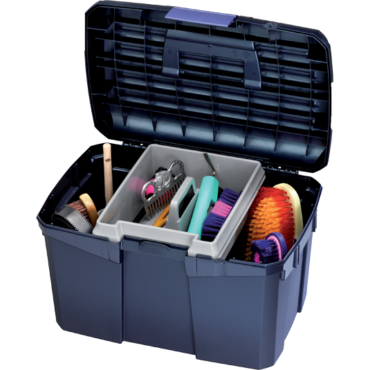 Fyna Lite Multi Colour Heavy Duty Grooming Box-Equestrian Co.