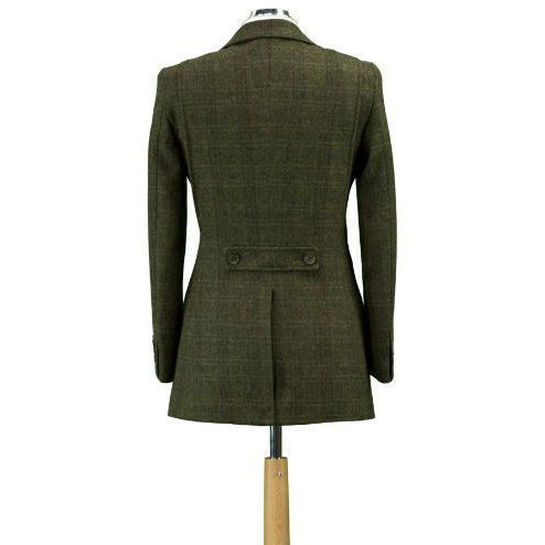 Hunter Outdoor Fern Women's Wool Tweed Jacket / Blazer-Equestrian Co.