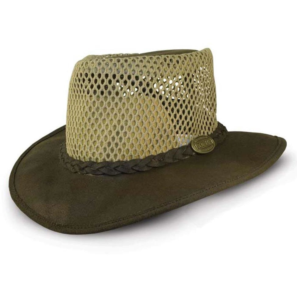 Rogue Oiled Suede Packaway Breezy Safari Hat-Equestrian Co.