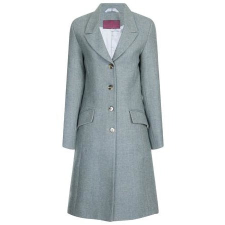 Beaver of Bolton Bespoke Ladies' Tailored 3/4 Length Peak Lapel Coat-Equestrian Co.