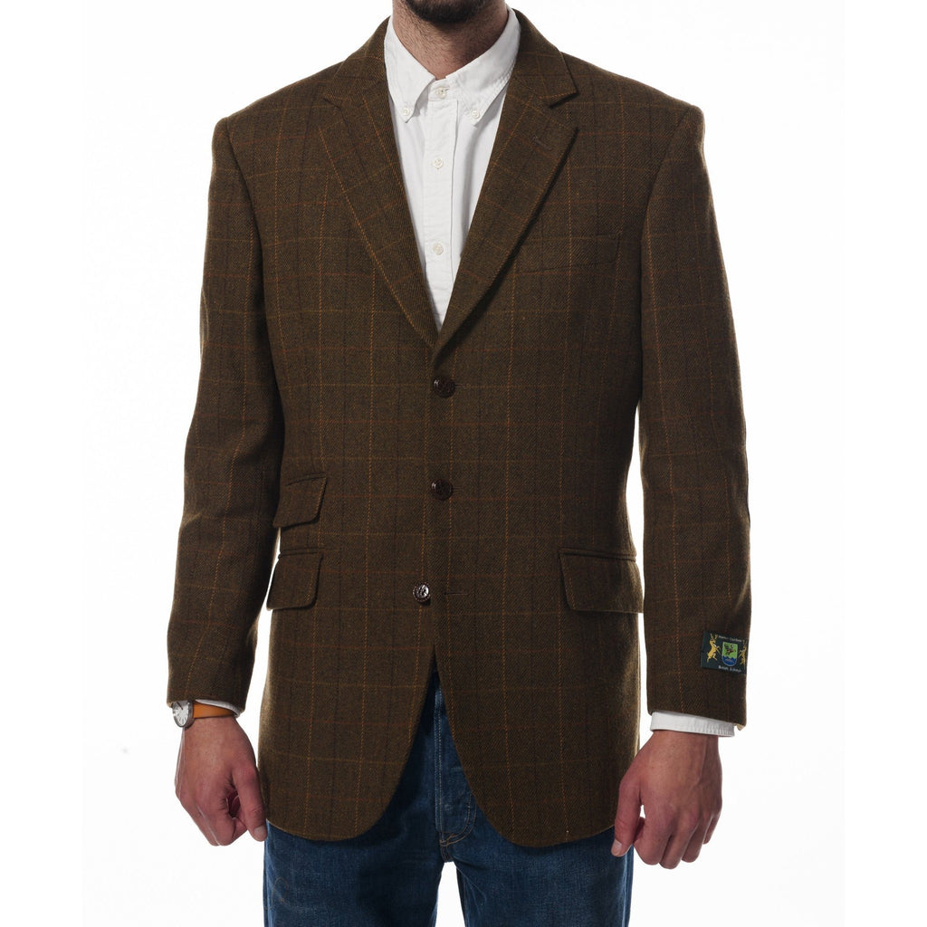 Hunter Outdoor Briar Men's Wool Tweed Blazer-Equestrian Co.