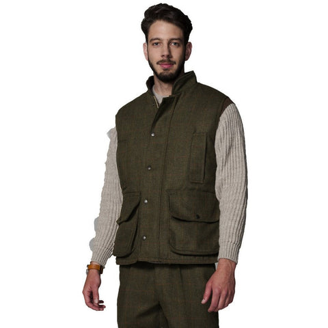 Hunter Outdoor Men's Shooting Tweed Gilet/Waistcoat - Equestrian Co. - 1