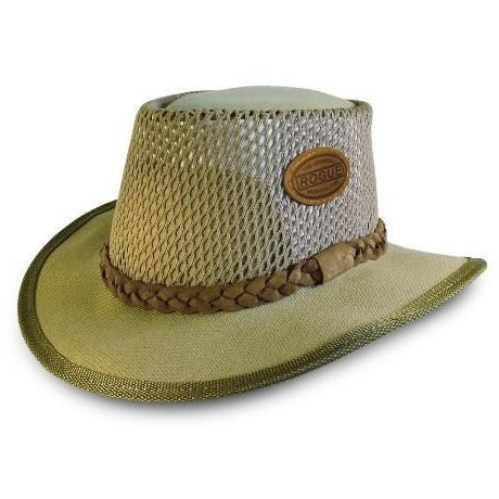 Rogue Canvas Airhead Safari / Cowboy Hat in Sand 304D-Equestrian Co.