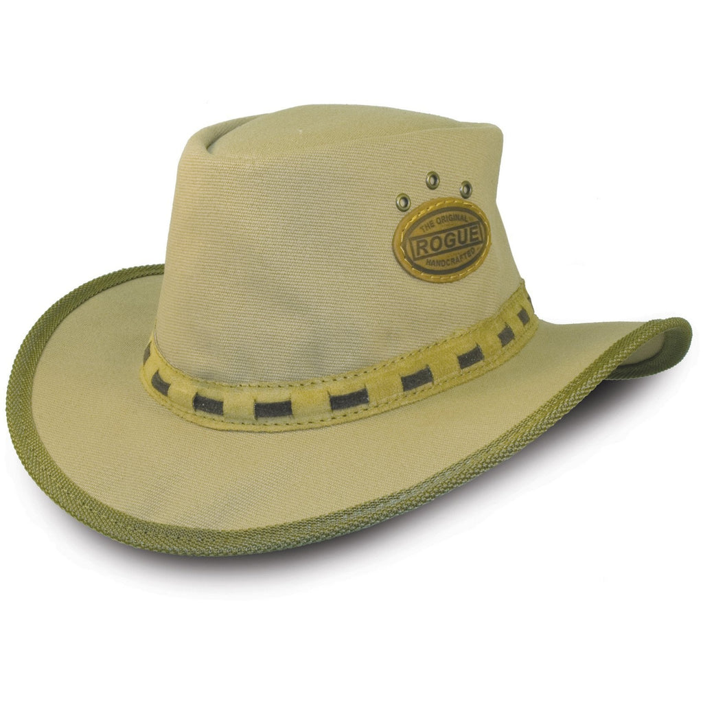 Rogue Canvas Safari / Cowboy Hat in Sand 306D-Equestrian Co.