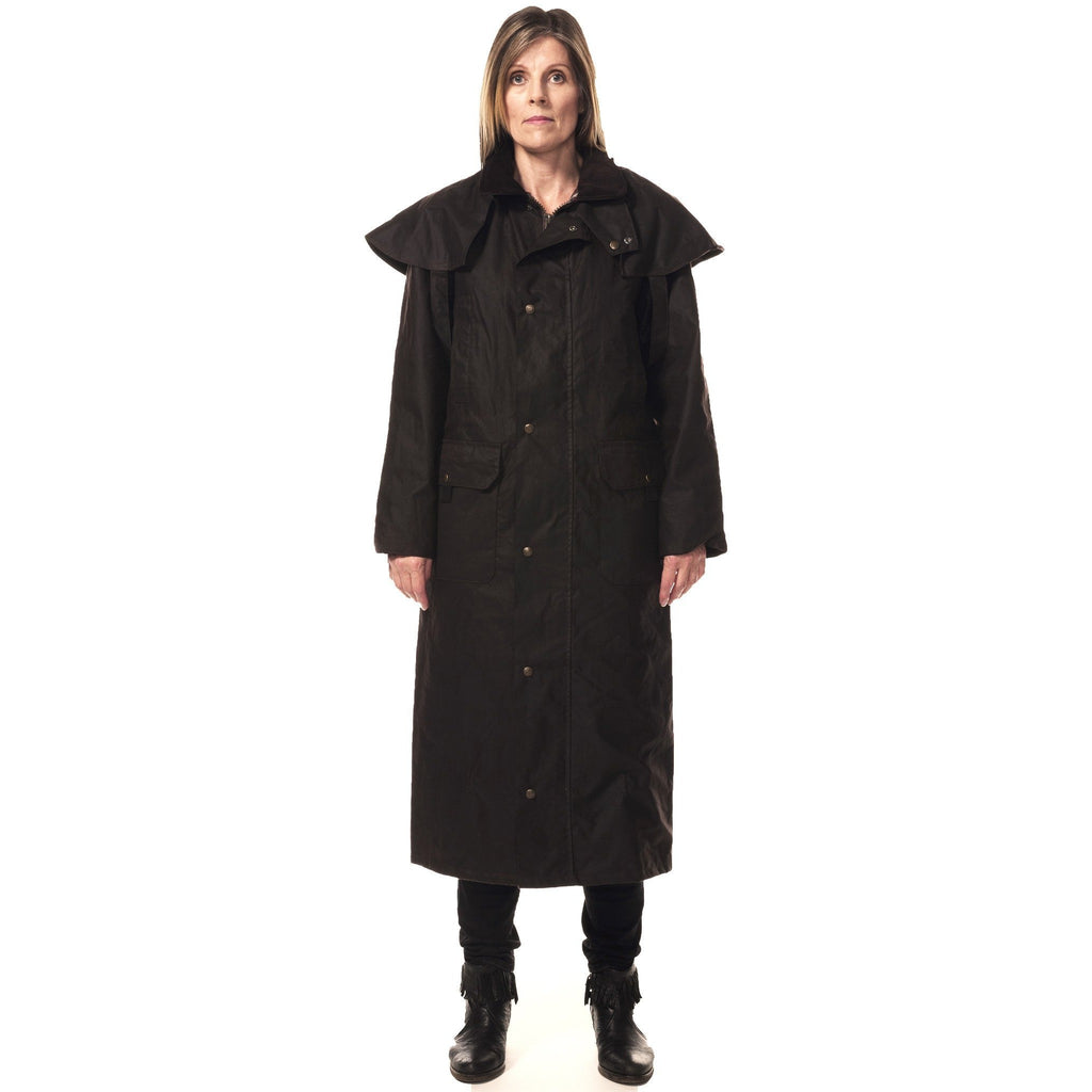 Hunter Outdoor Edinburgh Unisex Long Wax Coat (Free Tin of Wax)-Equestrian Co.