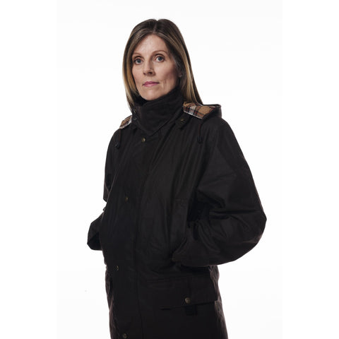 Hunter Outdoor Edinburgh Unisex Long Wax Coat (Free Tin of Wax Proofing) - Equestrian Co. - 1
