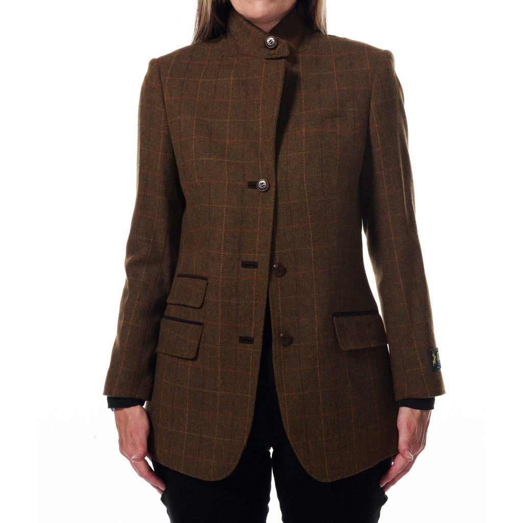 Hunter Outdoor Briar Ladies' Wool Tweed Blazer-Equestrian Co.