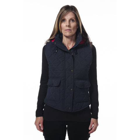 Hunter Outdoor Barley Ladies' Quilted Gilet - Equestrian Co. - 1