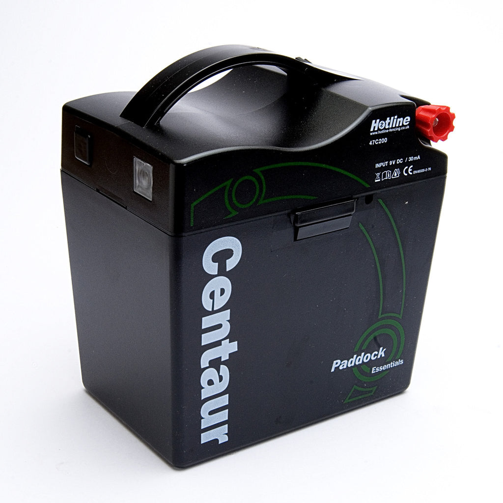 Hotline C200 Centaur 0.2j 9v Electric Fence Battery Energiser / Fencer-Equestrian Co.
