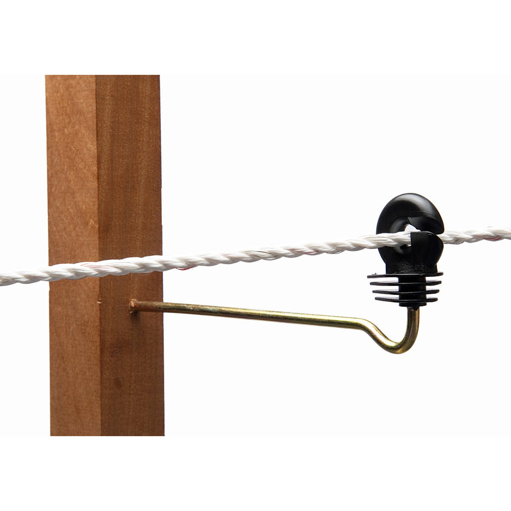Hotline C370SO 200mm Paddock Offset Screw Insulator Suitable for Wire & Rope up to 7mm-Equestrian Co.